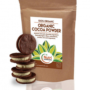 Cocoa powder, Organic vegan, dark chocolate