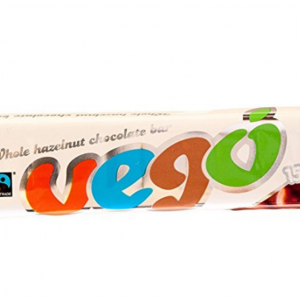 Vego Whole Hazelnut Chocolate Bar 150g (Pack of 5)